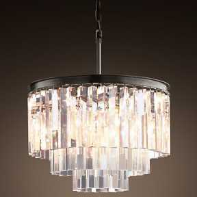Светильник BLS 30072 1920s Odeon Glass Fringe Chandelier