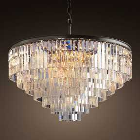 Светильник BLS 30229 1920s Odeon Glass Fringe Chandelier