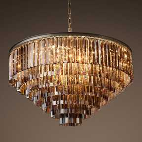 Светильник BLS 30339 1920s Odeon Glass Fringe Chandelier